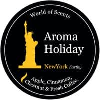 Aroma Holiday New York Scented Candle